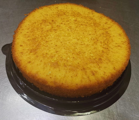 SOUR CREAM BUTTER CAKE (plain; 7-inch round)