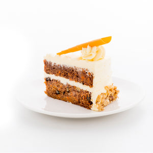(C12) AMERICAN CARROT CAKE (HEALTHIER CHOICE!)