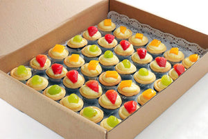 (SW32) 36pc MINI FRUIT TARTS