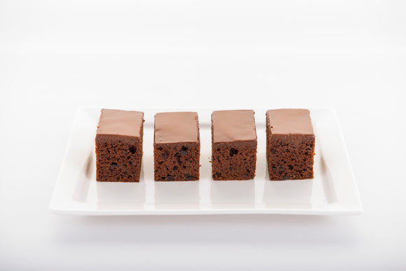 (SW40) 20PC MINI GRANDMA CHOC. CAKES (4CM BY 5CM)