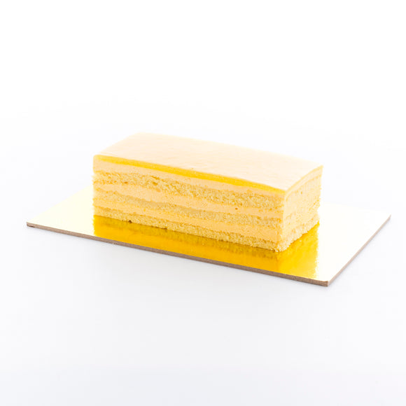 Mango Delight Bar cake (16cm by 7 cm)