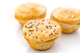 (SWC1) 12 PC MINI CHICKEN PIES + 15 PC MINI QUICHE