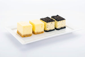 (SWC5) 10pc mini NY Cheesecakes + 10pc mini OREO Cheesecakes (4cm by 5cm)