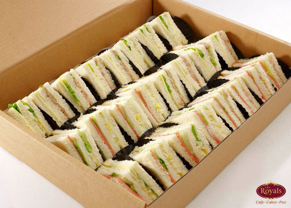 (SA07) MINI CLUB SANDWICHES (24 PC)