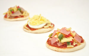 (SA16) ASSORTED MINI PIZZAS (20 PC)