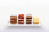 (SW47A) 20pc Assorted PREMIUM Mini Cakes (4cm by 5cm)