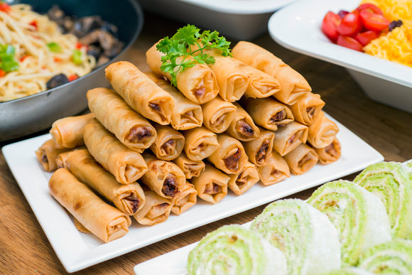 (SA21) 40pc FRIED SPRINGROLLS - VEGETARIAN