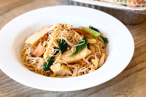 (PP14) FRIED BEE-HOON (no meat version is also available)