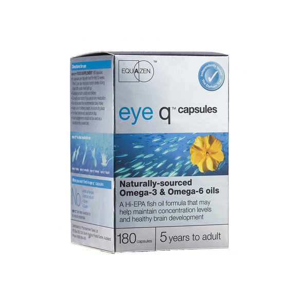 Eye Q 400mg Tablets 180s