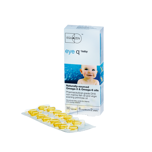 Eye Q Baby twist off capsules 30's