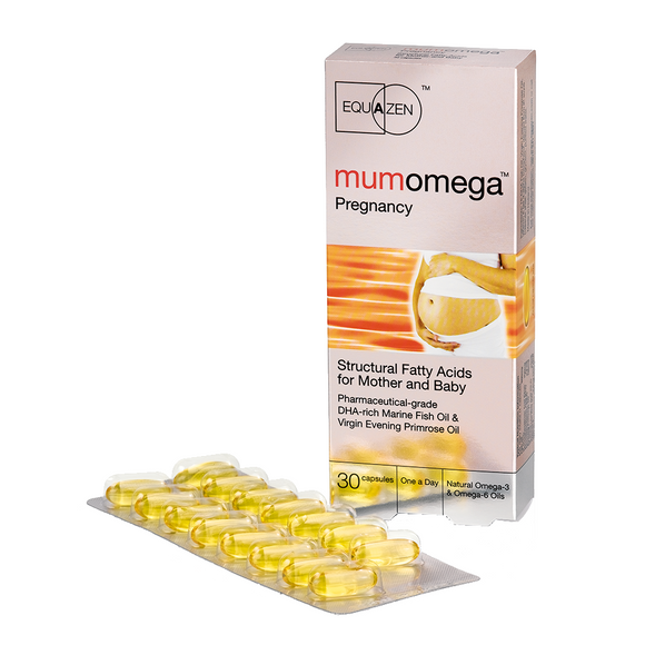 Mumomega Omega 3 and Omega 6 supplement for Before, During and After Pregnancy