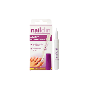 Nailclin, a convenient and easy to use brush pen to help with nail discolouration and inhibit the growth of nail fungi