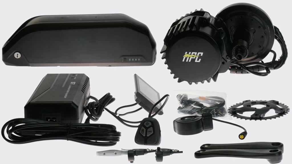 2000W Mid Drive Conversion Kit w/ Upgraded 16AH Battery