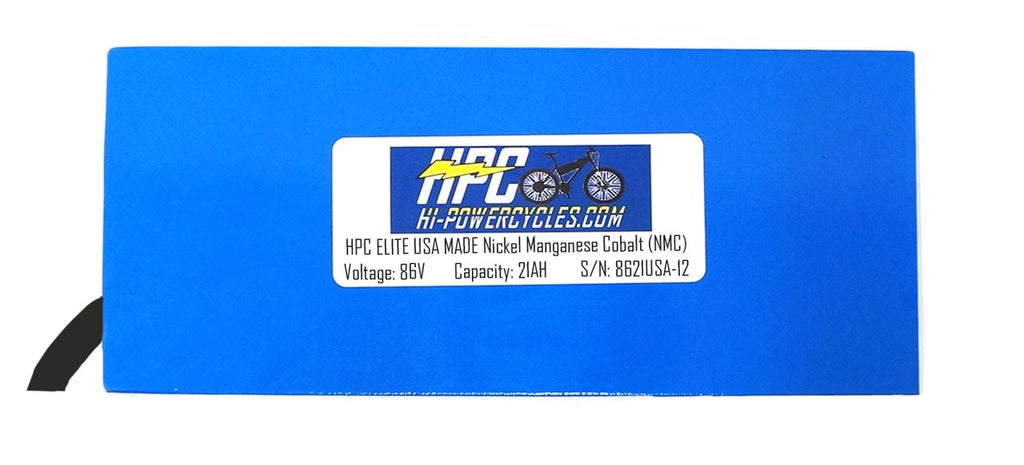 NEW! 86V 21Ah ELITE USA MADE Battery System