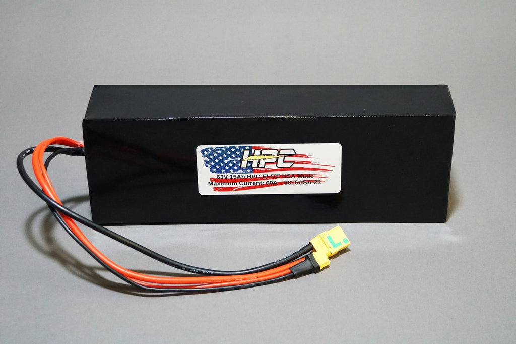 NEW! 63V 15Ah ELITE USA MADE Battery System