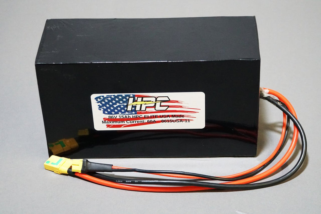 NEW! 86V 15Ah HPC ELITE USA MADE Battery System