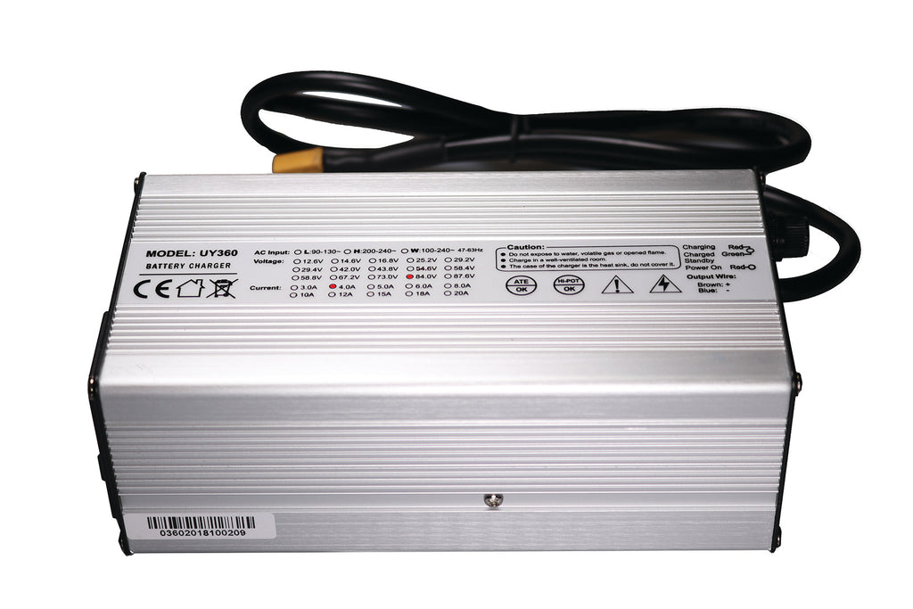 72v 20S Intelligent Lithium Smart Charger (84V Output)