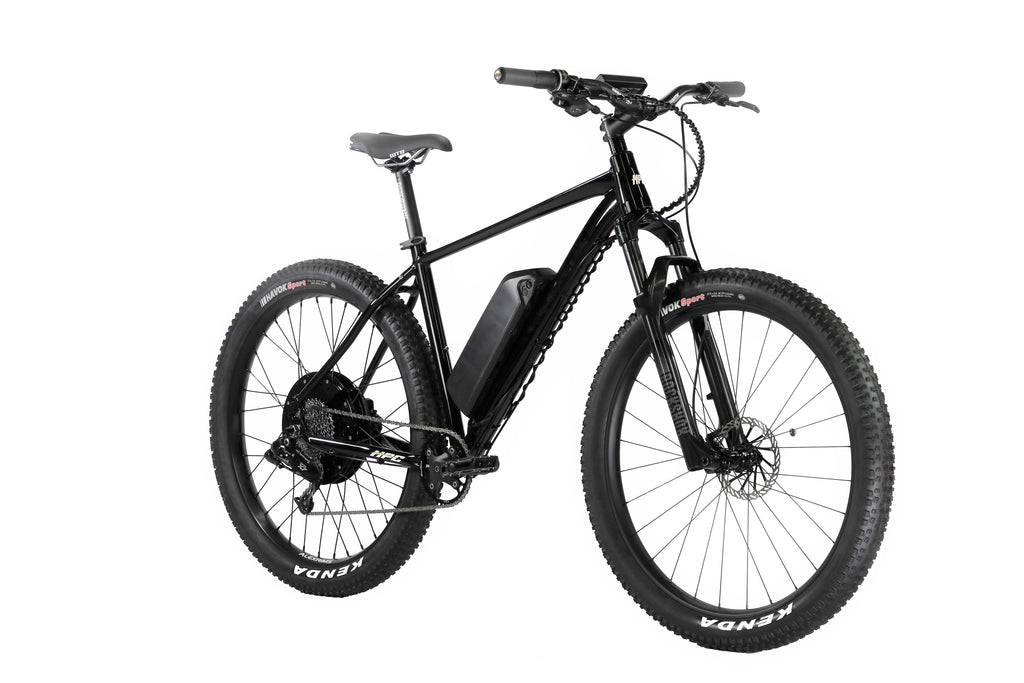 ALL NEW 2021 Black Lightning- 2000W Lightweight, High Performance 40+ MPH E-Bike