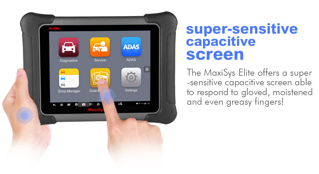 autel maxisys elite super screen