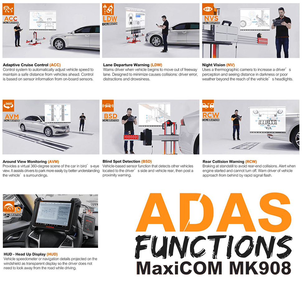 mk908 with adas functions for safe driving