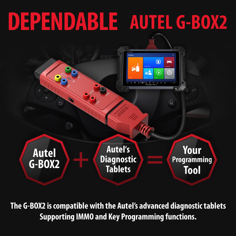 autel gbox2 worked with IM608 IM508