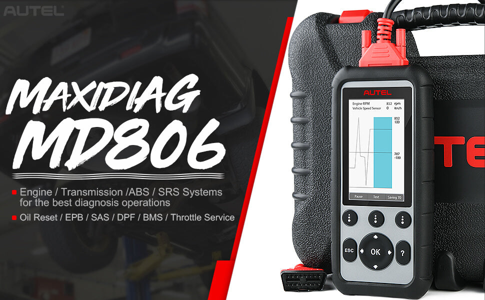 autel maxidiag md806 functions