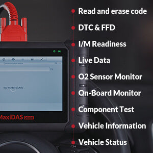 autel ds808k support all obd/eobd diagnostic