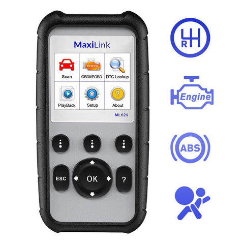 Autel Maxilink ML629 4 Main Functions