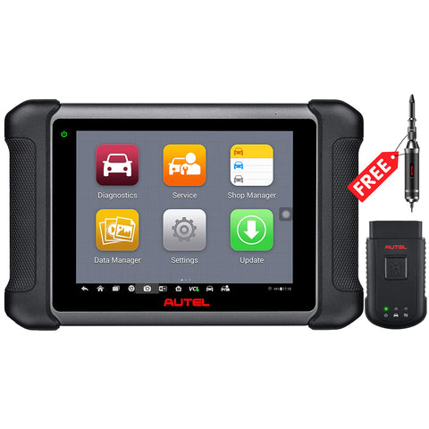 Autel Maxisys MS906BT Kit OBD2 Scanner Complete Automotive Diagnostic System with Advanced ECU Coding,  +TS501 Kit same as MS906TS