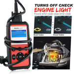 autel al609p turn off engine light