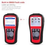 autel md802 scanner dtc lookup