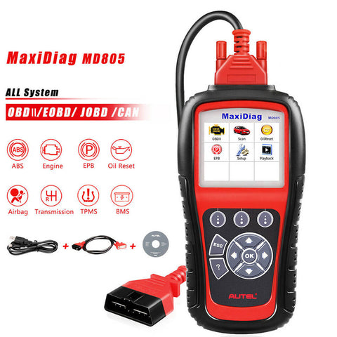 Autel md805 all system obd2 scanner