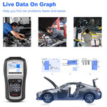 autel ml519 live data on graph functions