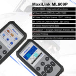Autel ML609p functions