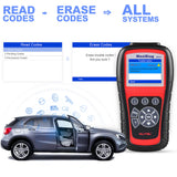 autel ms805 read erase fault codes