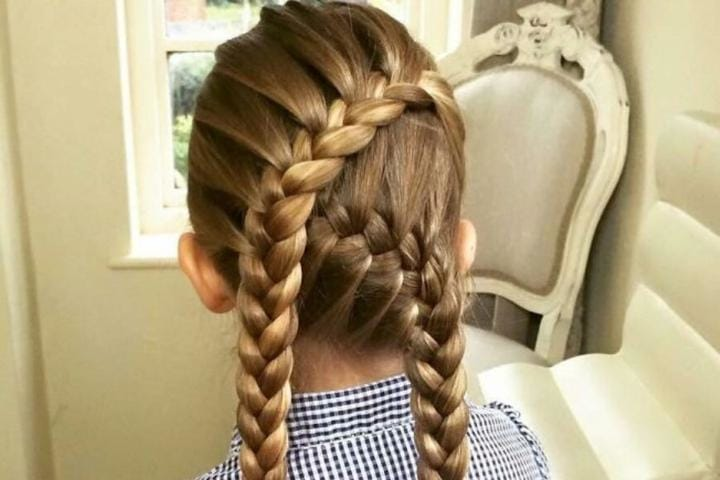 Indestructible Hairstyles for Kids in the Summer