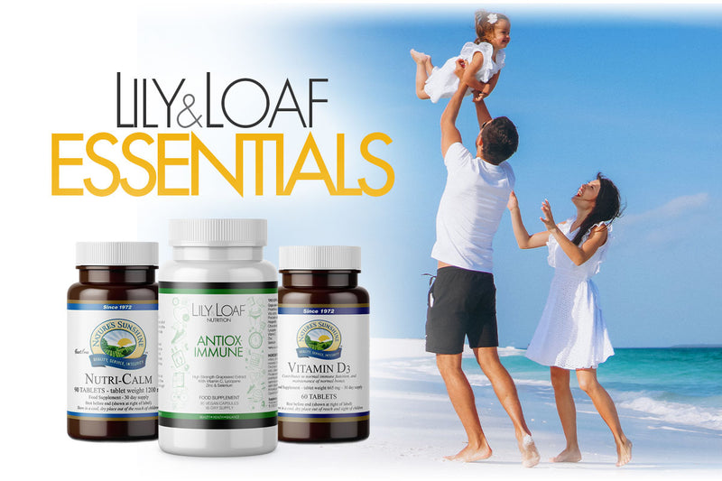 The ultimate lock-down trio, containing Antiox-Immune, Nutri-Calm, Vitamin D
