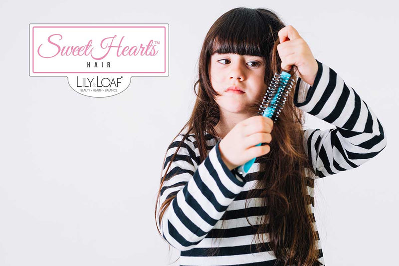 Natural, Organic Formulas - say goodbye to tangled hair tantrums and tears, making mornings an absolute nightmare, as SweetHearts Hair Detangler makes brushing and combing effortless.