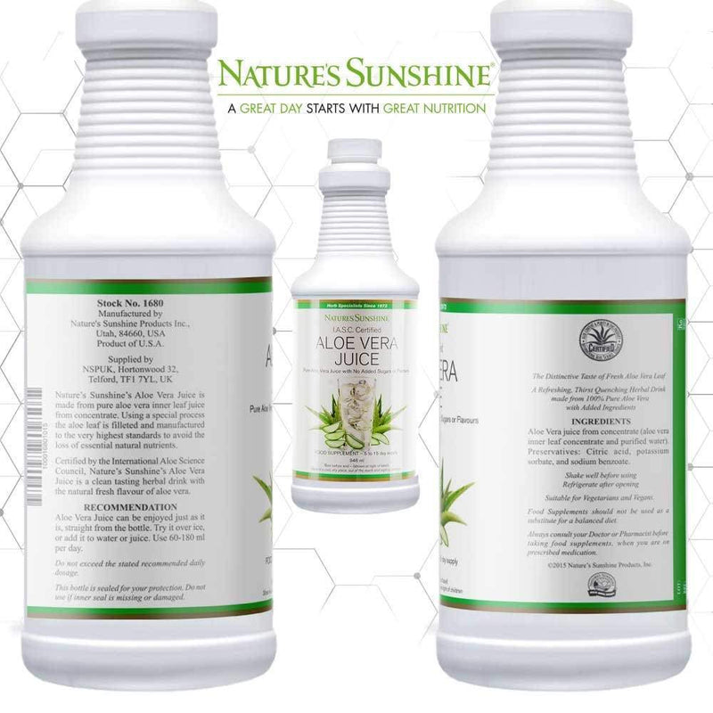 Nature's Sunshine - Aloe Vera Juice - Liquid