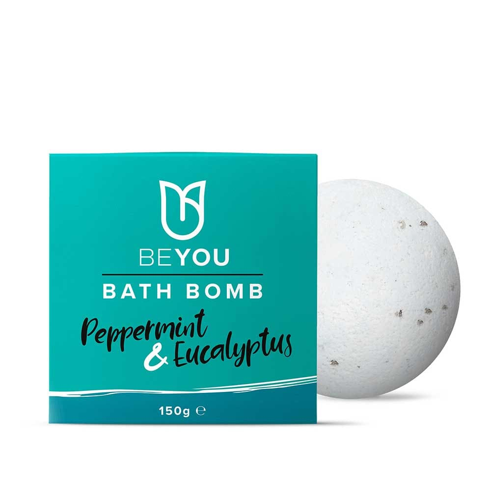 BeYou - BeYou Peppermint and Eucalyptus Bath Bomb - Essential Oil