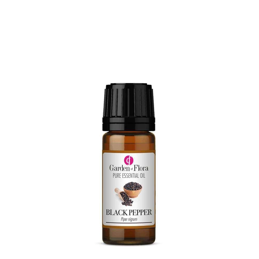 Garden of Flora - Black Pepper Pure Essential Oil 10ml - Essential Oil