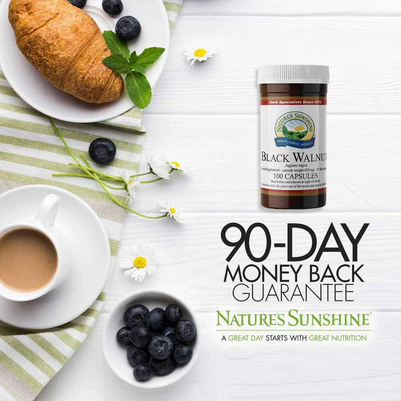 Nature's Sunshine - Black Walnut (100 Capsules) - Capsule