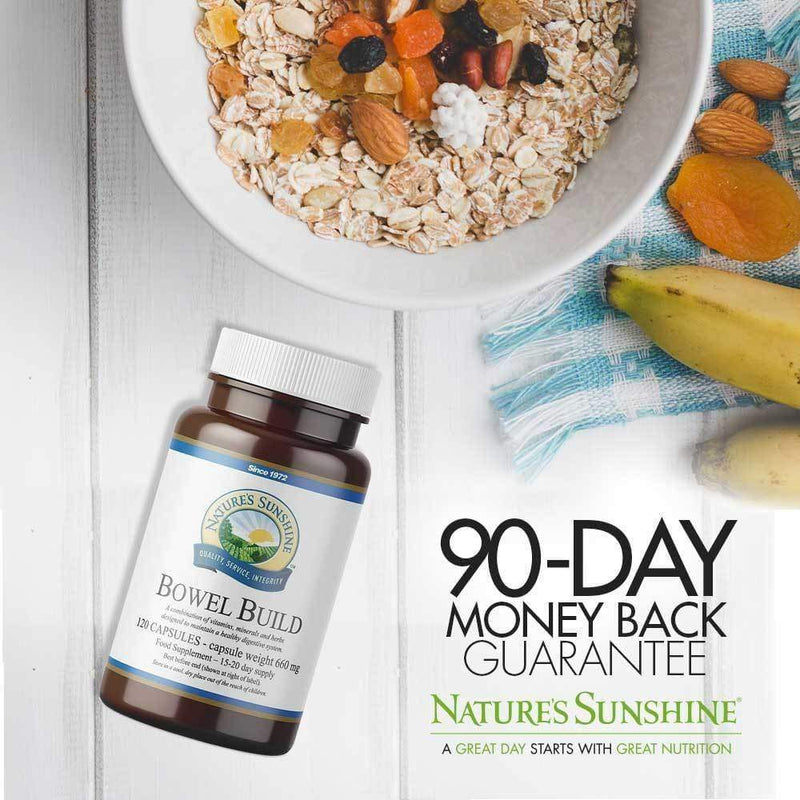 Nature's Sunshine - Bowel Build (120 Capsules) - Capsule