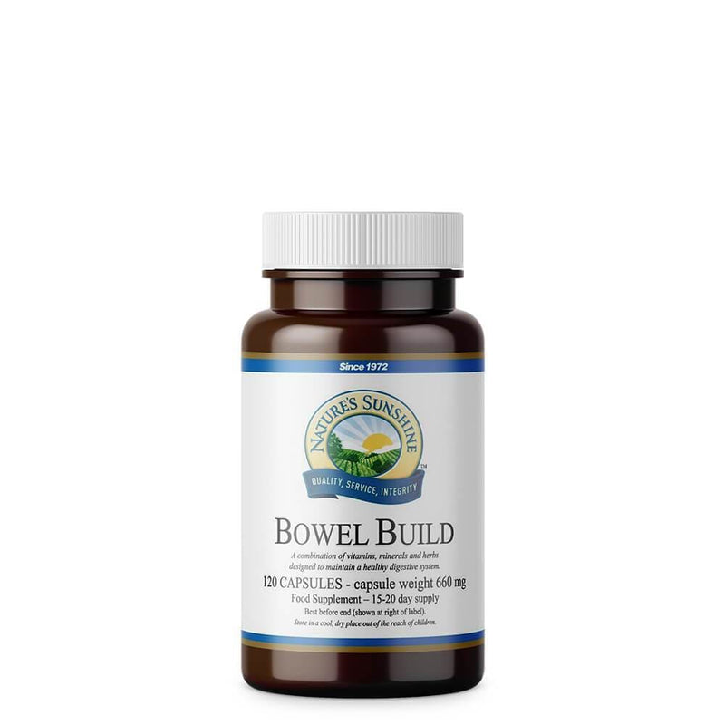Natures Sunshine - Bowel Build (120 Capsules) - Capsule