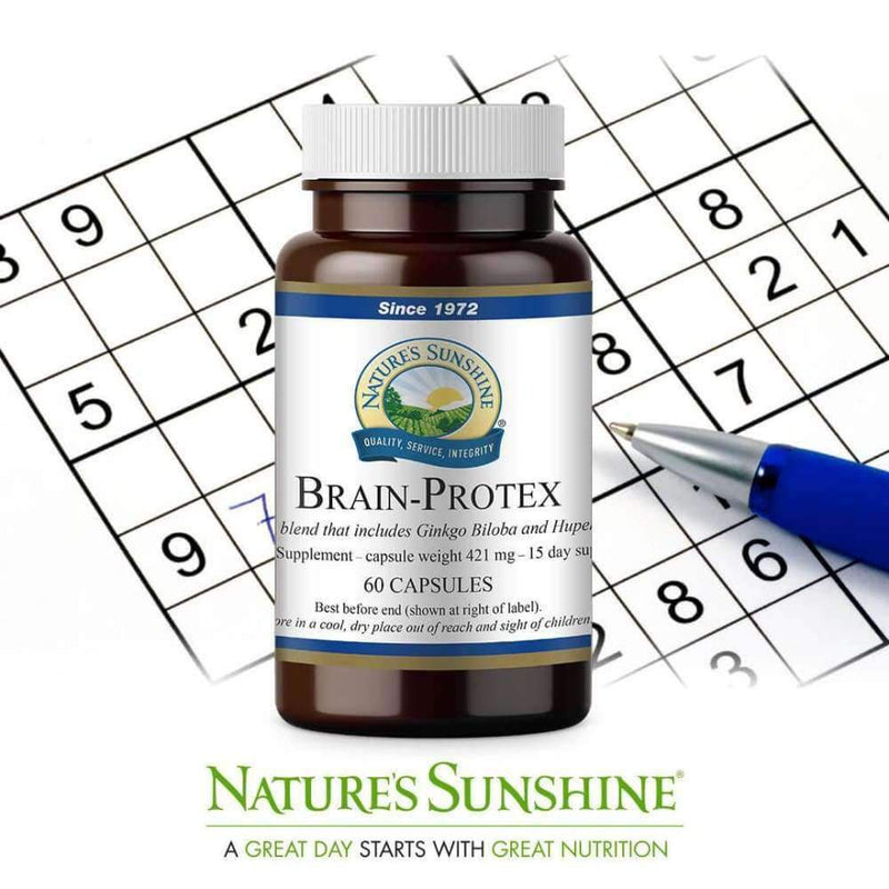 Natures Sunshine - Brain Protex with Huperzine - Capsule