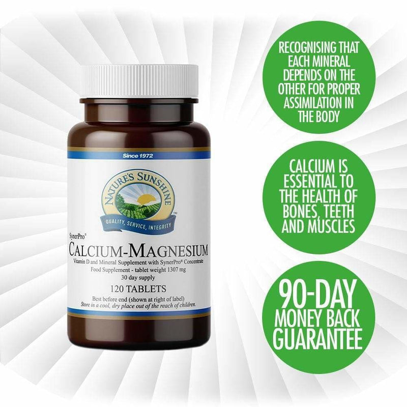 Nature's Sunshine - Calcium-Magnesium (120 Tablets) - Tablet
