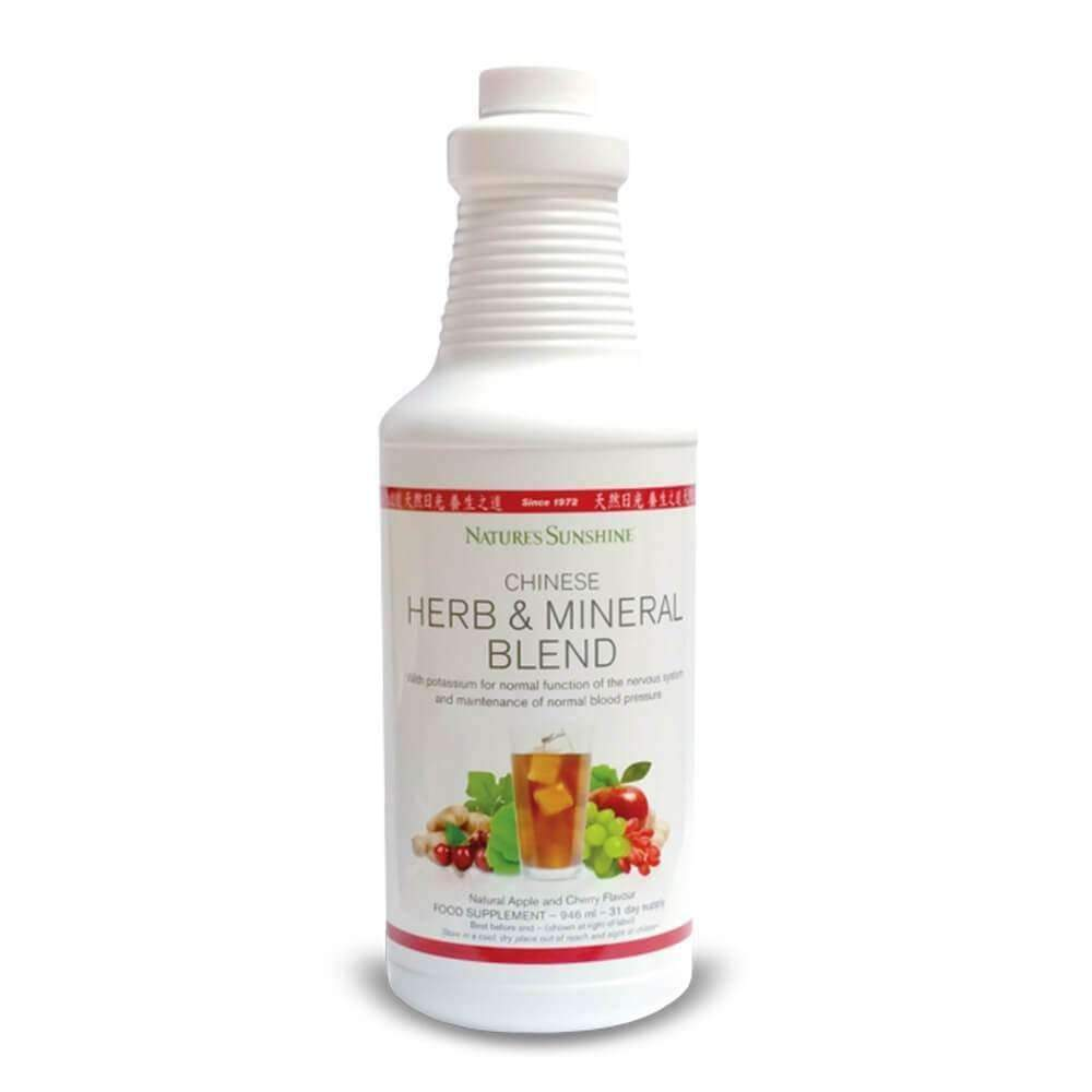 Natures Sunshine - Chinese Herb & Mineral Blend - Liquid