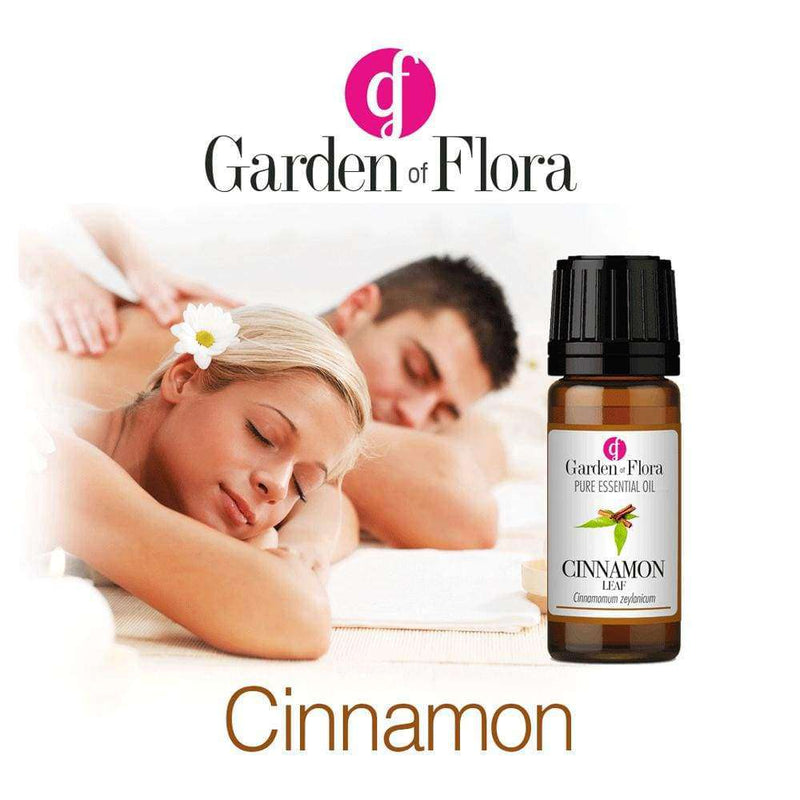 Garden of Flora - Cinnamon Leaf Pure Essential Oil 10ml - Essential Oil
