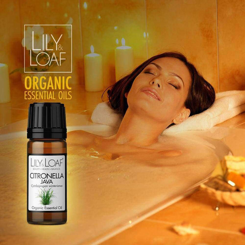 Lily & Loaf - Citronella Organic Essential Oil 10ml - Essential Oil