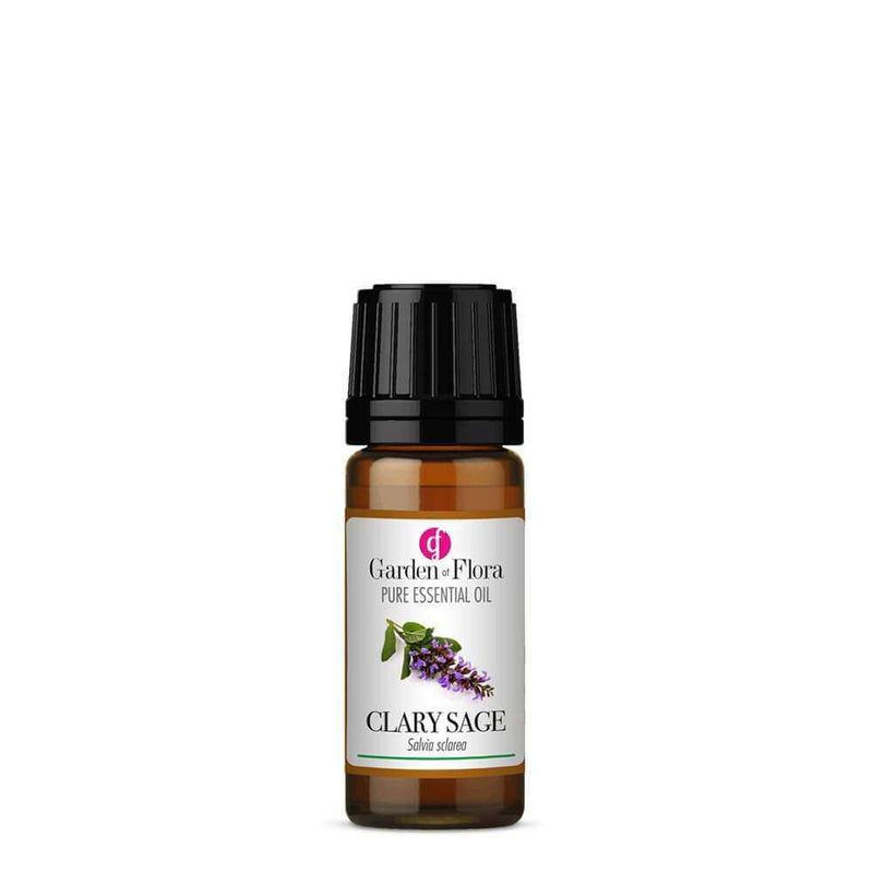 Garden of Flora - Clary Sage Pure Essential Oil 10ml - Essential Oil